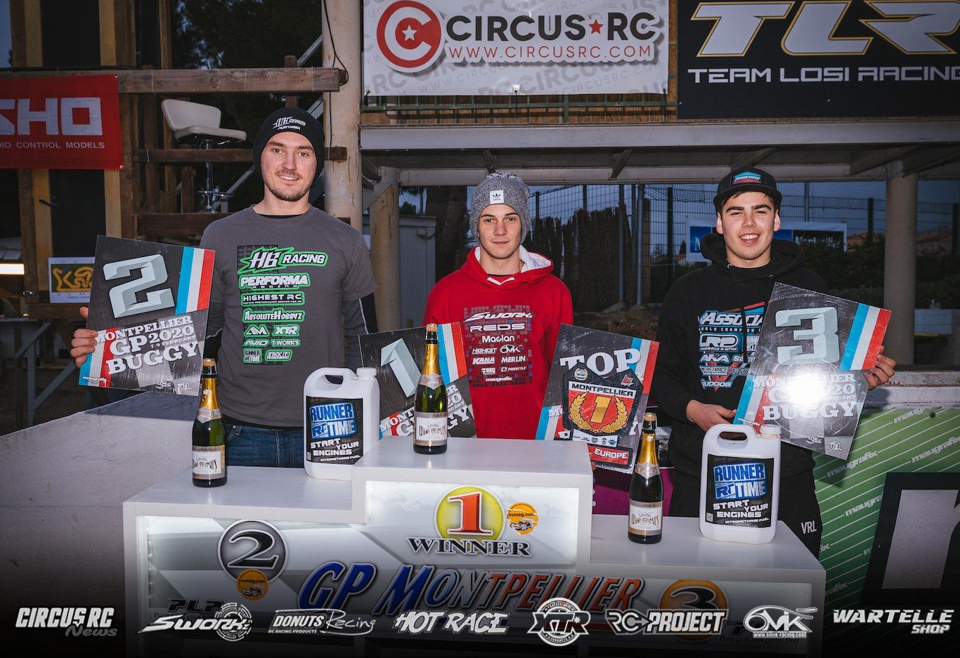 Juan Carlos Canas gana el GP de Montpellier y lidera el Masters of Europe