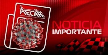 AECAR cancela todos los eventos hasta el 1 de Abril