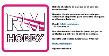 RM Hobby ofrece servicio online y portes gratis a partir de 10€