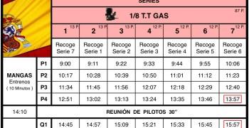 Nacional 1/8 TT Gas San Jose - Horarios, directos y situación actual
