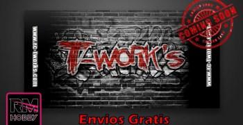 Twork's ya disponible en RM Hobby ¡Con envío gratuito!