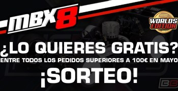 ¡Sorteo Mugen MBX8 Worlds Edition! Por Big Bang Hobbies