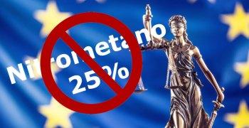 Europa limita al 16% la máxima concentración de nitrometano sin licencia