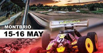 15 y 16 de Mayo - Campeonato de España B 1/8 TT Gas en Montbrio