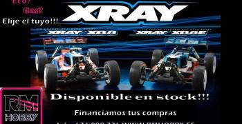 XRay XB8 2021 ya disponible en RM Hobby