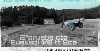 13 de Junio - Segunda prueba Campeonato Euskadi 1/8 TT-E