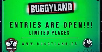 Buggyland 2021 ¡Inscripciones abiertas! - Entries are open!
