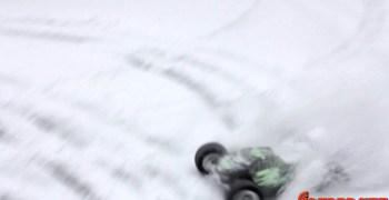 Team C T8TE en la nieve