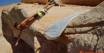 Video de los Viernes: Tirarse de un barranco no es suficiente...hay que tirarse en tobogán