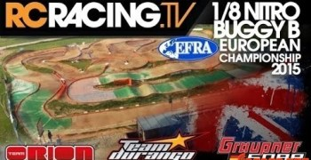 Video en Directo: Campeonato de Europa B 1/8 TT Gas 2015
