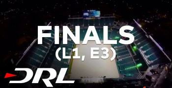 Video - Finales Drone Racing League Level 1. Dominio indiscutible de Zoomas