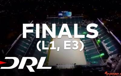 Video - Finales Drone Racing League Level 1. Dominio indiscutible de Zoomas