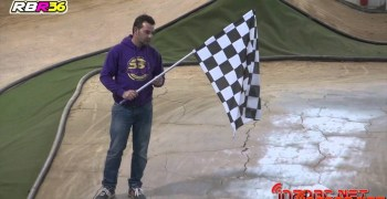 Video - Primera carrera en el RBR36 Arena y su nuevo trazado. 1/8 TT Eco Winter Series