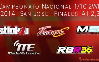Vídeo y fotos: Campeonato de España 1/10 2WD 2014. San José de la Rinconada
