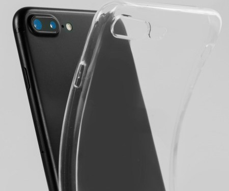 Coque iPhone 8 Plus Olixar transparente