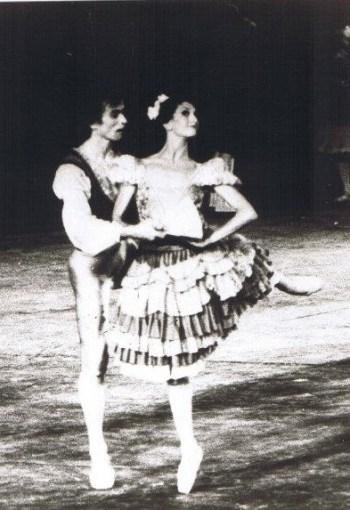 Lia con Nureyev