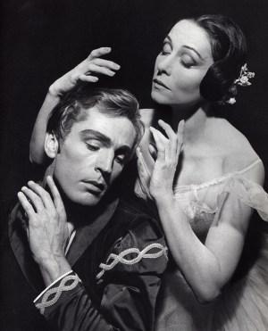 Yvette Chauvirè ed Erik Bruhn - Giselle- festival Nervi 1964
