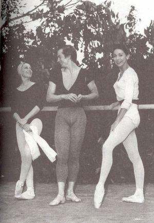 festival Nervi con Nureyev e M. Fontaine