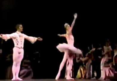 Natalia Makarova e Mikhail Barishnikov: <em>Pas de deux</em> da <em>La Bella Addormentata</em>