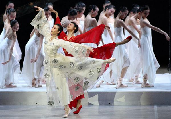Alla Sadler's Wells di Londra il Balletto Nazionale della Cina presenta <em>Peony Pavillon</em>