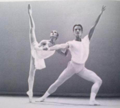 Al Festival di Nervi 1995, coreografia di George Balanchine