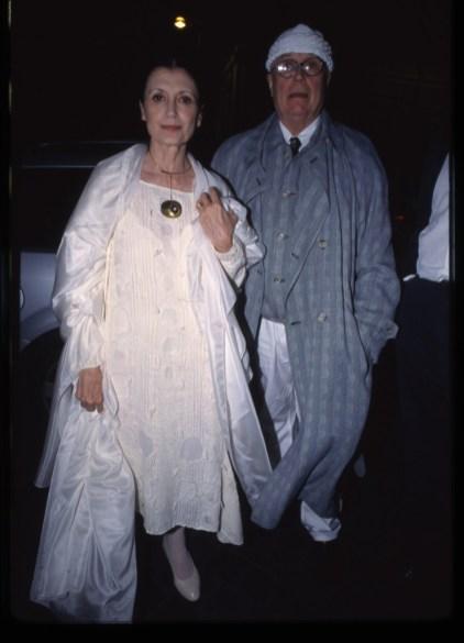 Carla Fracci e Beppe Menegatti