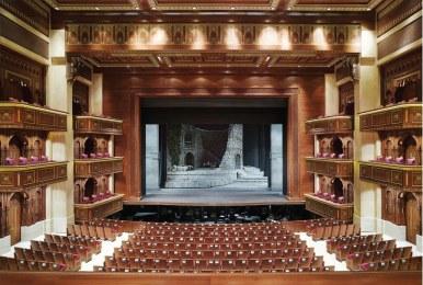 La sala della Royal Opera House Muscat Oman
