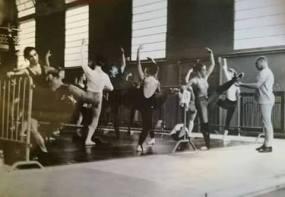 Riccardo Nunez insegna allo stage di Nervi del 1983
