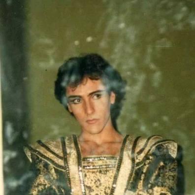 Bruno Verzino quando danzava a Tel Aviv