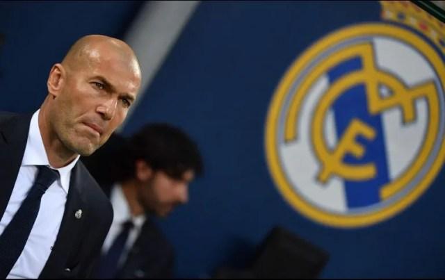 Apenas el pasado mes de febrero Zidane había expresado la ilusión de continuar en el Real Madrid la temporada próxima. AFP/Archivo
