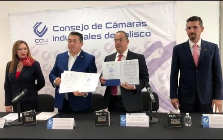 El nuevo centro de mediación se sumará a la red de centros públicos y privados con los que ya cuenta el IJA. ESPECIAL/ @CCIJalisco