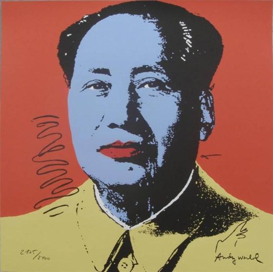 Andy-WARHOL-lithograph-MAO