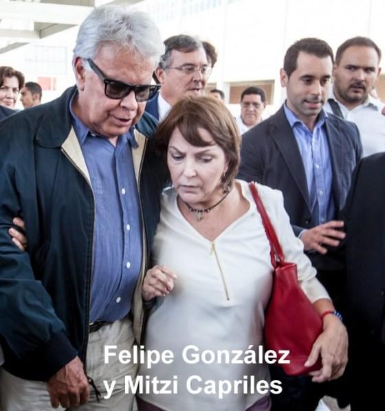 Felipe-González-con-Mitzi-de-Ledezma