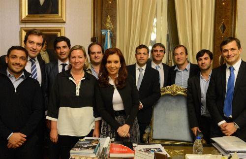 CFK con intendentes oktubres