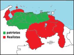 Provincias Unidas de Venezuela en 1811