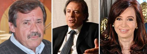 Carlos Maestro-Cristóbal López-Cristina Kirchner