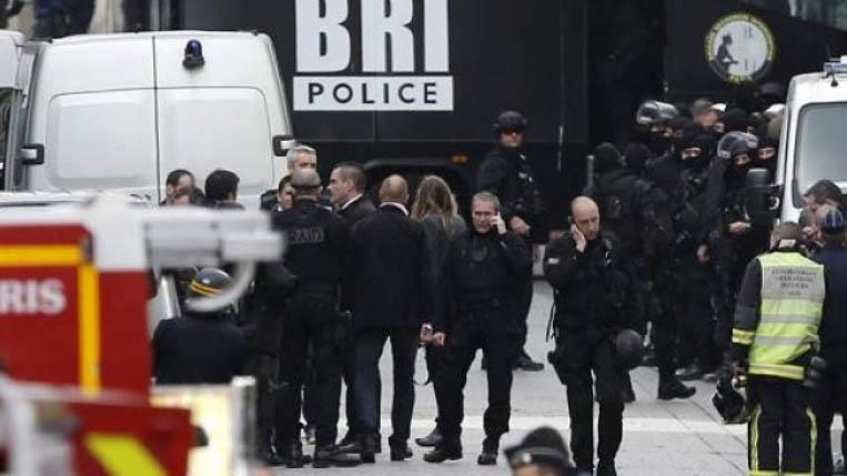 contraataque en Saint Denis Policía Francesa
