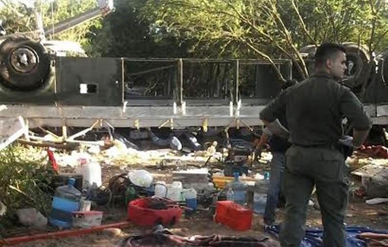 Accidente de Gendarmería en Salta