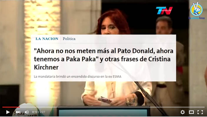 CFK-pato-Donald