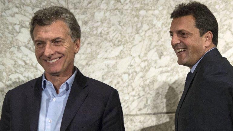 Massa pacto con Macri