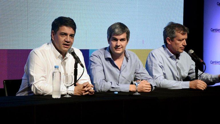 Peña, Monzó y Jorge Macri