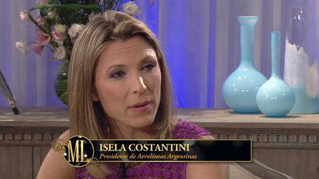 Isela Costantini con Mirtha Legrand