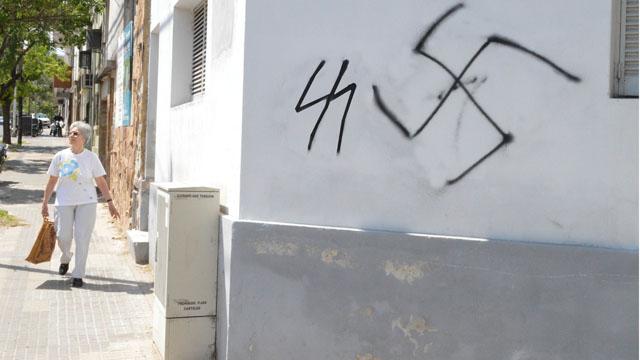 grafitti nazi