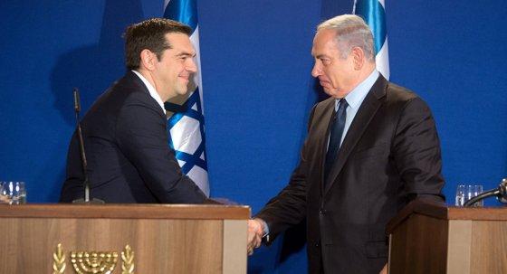Alexis Tsipras-Netanyahu