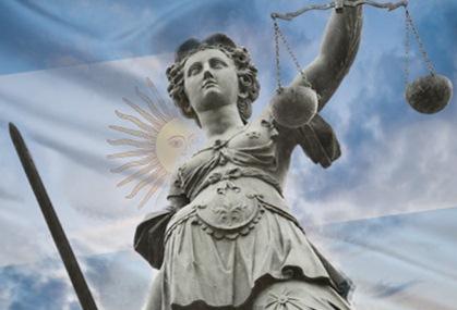 La justicia en la Argentina