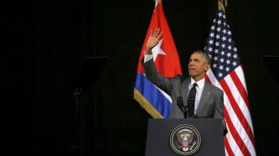 Obama habla en Cuba