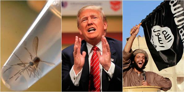 Zika-ISIS-Trump