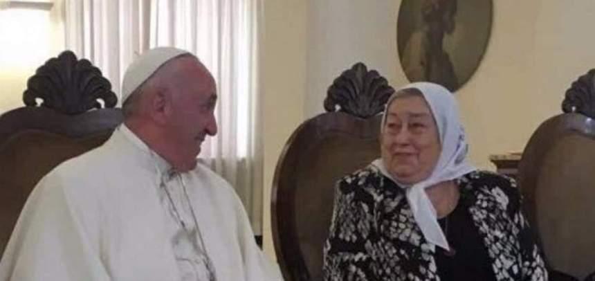 Papa recibió a Bonafini