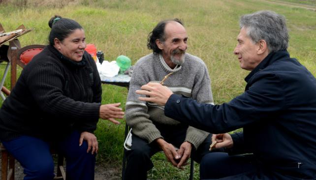 macri-Alfredo Farías-telam