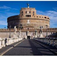 El Mausoleo de Adriano o Castel Sant Angelo